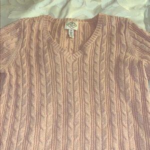 I am selling a v neck sparking pink sweater